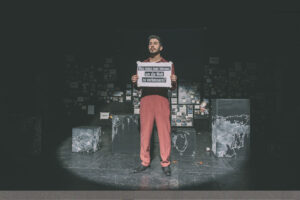 Ali als Theaterspieler